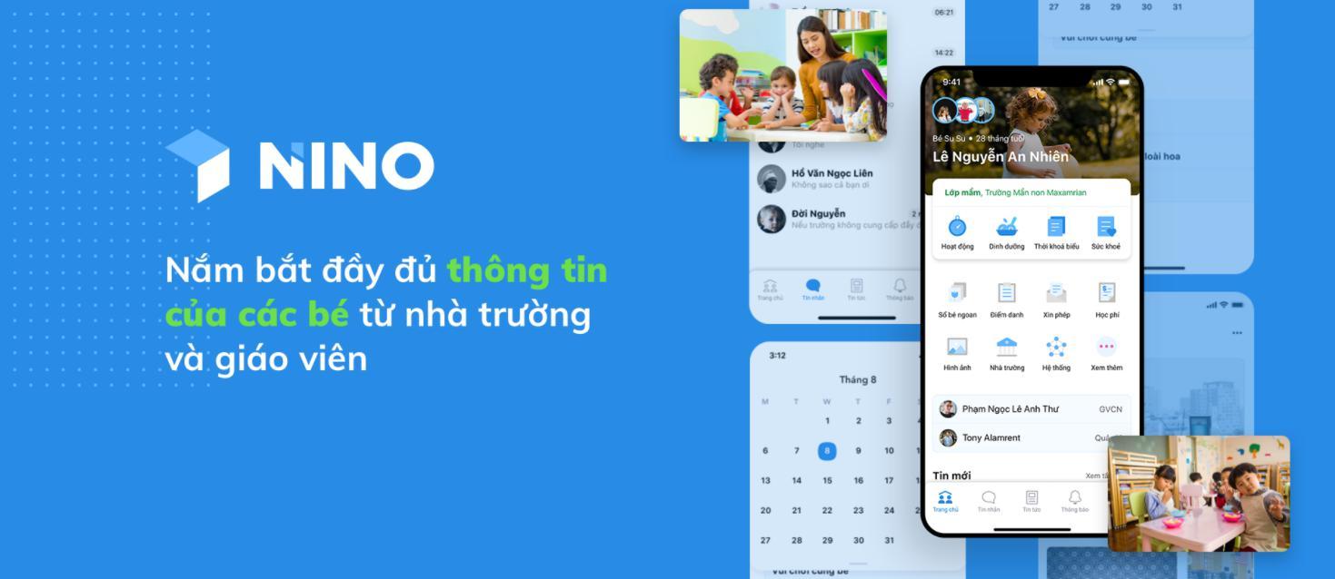 Hệ thống quản lý giáo dục Nino app
